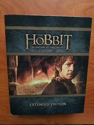 The Hobbit Trilogy - Extended Edition - (blu-ray)