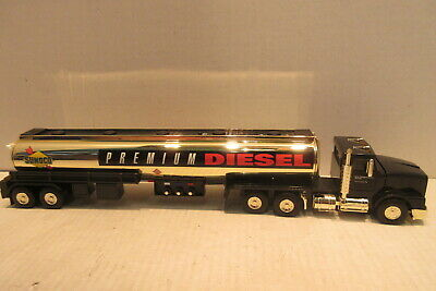 1998 Sunoco Talking Tanker Toy Truck Gold Serial Numbered Limited Edition 0916