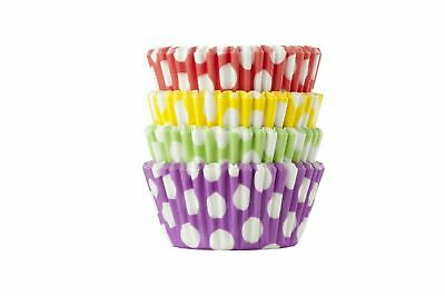 Multi Colours, Pattern, Style, Type Cupcake Muffin Cases - High Quality Paper