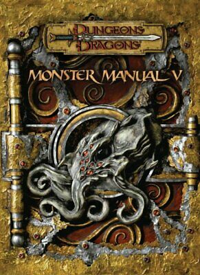 Monster Manual V Dungeons & Dragons d20 3.5 Edition