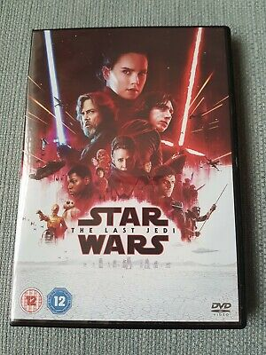 Star wars the last jedi DVD sci fi Disney