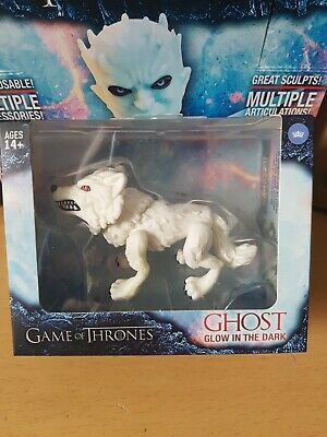 Loyal Subjects Game Of Thrones Vinyl Figure Glow in the Dark Ghost Exclusive