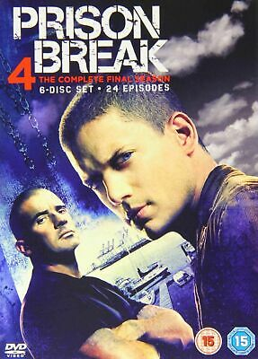 Prison Break: Complete 4th Season Dvd Wentworth Miller New & Factory Sealed