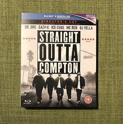 Straight Outta Compton UK Region Free Blu-ray NWA Dre Ice Cube Ren Yella Eazy