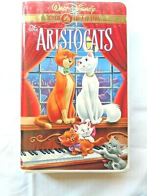 The Aristocats (VHS, 2000,Walt Disney Gold Collection)