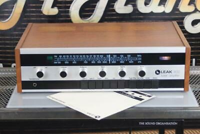 LEAK 1800 vintage Tuner/AMPLIFIER Receiver Working well with Manual VGC