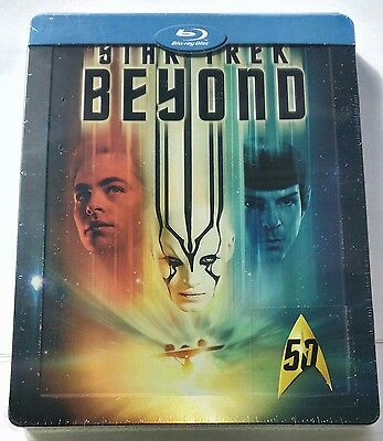 Star Trek Beyond | Limited Blu-Ray Steelbook Italy | NEU NEW OVP Sealed