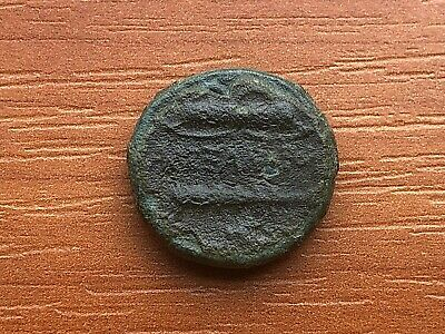 Alexander III the Great 336-323 BC AE17 Herakles & Bow, Club Ancient Greek Coin