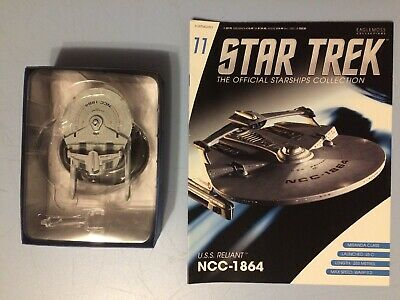 USS Reliant NCC 1864 Model + Magazine Eaglemoss Star Trek Issue 11