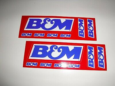 "Original  Racing  Stickers/ Decals  "" B & M - Nhra - Off  Road  ""   8"" X 2.5"