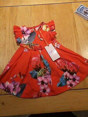 Girls Ted Baker Dress 6-9 Months (New With Tags)