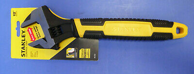 """Stanley Hand Tools # ( 90-950) 12"""" Max Steel Adjustable Open End Wrench"""
