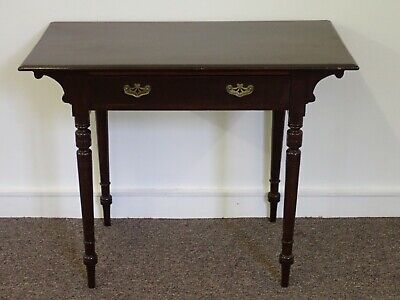 Victorian Mahogany Hall Writing Table