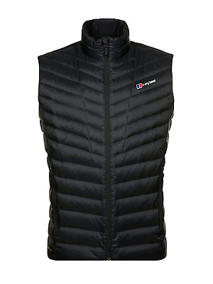 BERGHAUS MEN'S TEPHRA Reflect Vest Down Jacket, Black, Small