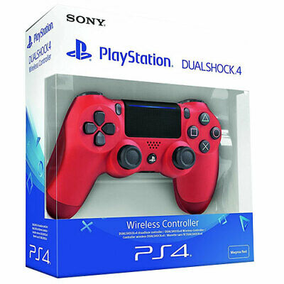 PLAYSTATION Dualshock 4 PS4 Controller Magma Red Rosso ( Nuovo Confezione