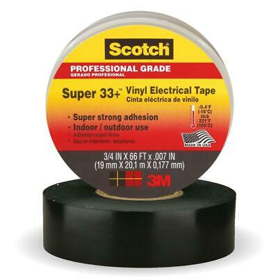 """3M 33+ Vinyl Electrical Tape - 3/4"""" x 66ft - Pack of 6"""