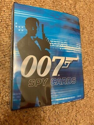 James Bond 007 Spy Cards Folder and job lot of 48 cards - Rare Collection 2008