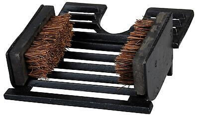Boot Scraper And Bootjack Brush Shoes Wellies Remover Pull Puller Jack Cast Iron