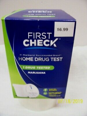 New! First Check Marijuana Home Drug Test/Over 90% Accurate/Results in 5 Min.!