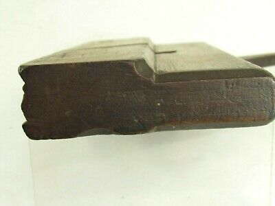 H  Complex Molding Plane Marked Jo Fuller Providence Relieved Wedge Inv T5648