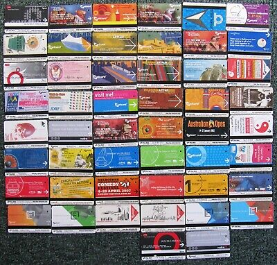 Victorian Tram/Train  METCARDS  x  50 different