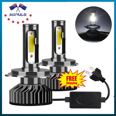 H4/9003 1150W 172500LM LED Headlight Kit Conversion Globes Bulb Hi-Lo Beam 6000K