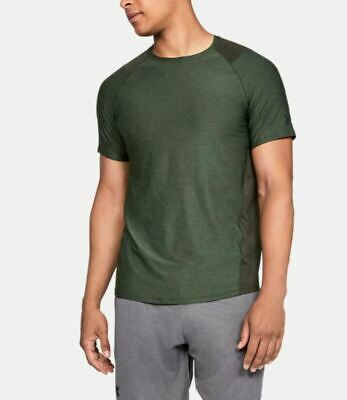 Under Armour Men's Mk-1 HeatGear Training T-Shirt Green Select Size NEW with tag