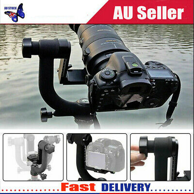 1/4in 360 Degree Rotatable Panoramic Gimbal Tripod Head Ball Mount for Camera