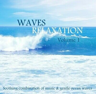 Waves Relaxation Cd For Meditation,Stress, Spa & Sleep, Soothing Music & Ocean