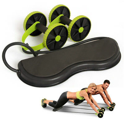 ABS Ab Wheel Roller Abdominal Exercise Abs Home Gym Wonder Workouts Body Fitness