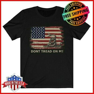 FREESHIP Dont Tread On Me Shirt Gadsden Flag Tee Chris Pratt T-Shirt S-6XL Limit