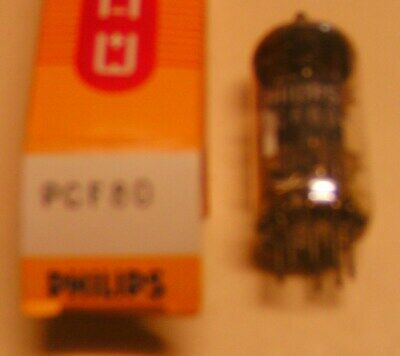 PCF80 electronic tube (equivalent LN329 = LZ329 =9A8 =8A8 =30C1 =9TP9) Philips