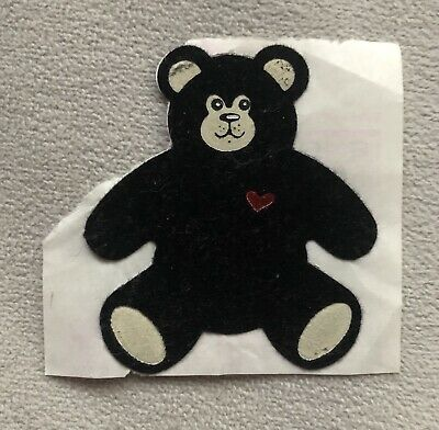 Vintage 1980's Fuzzy Bear Sticker By Personal Expressions, Used
