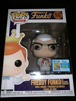 Funko Fundays 2019 SDCC Exclusive Pop AD Icons Freddy Funko KFC Colonel Sanders