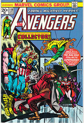 Avengers 119 - The Collector App (Bronze Age 1974) - 8.5