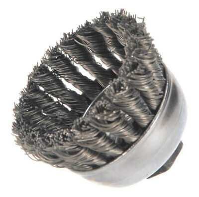 WEILER 94081 Knot Wire Cup Wire Brush, Threaded Arbor