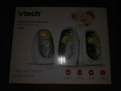 VTech DM223-2 Audio Baby Monitor with Two Parent Units, up to 1,000 ft of Range