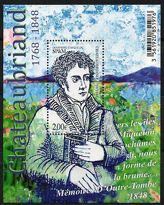 St Pierre & Miquelon 2019 - Chateaubriand -  BF neuf // MNH