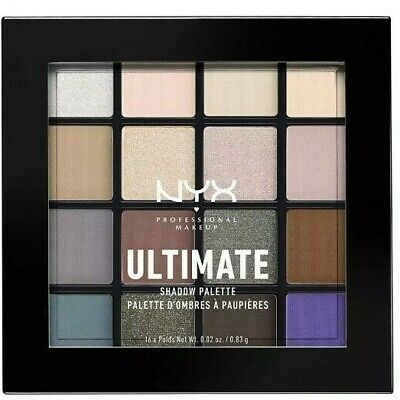 NYX Cosmetics Ultimate EyeShadow Palette Cool Neutrals