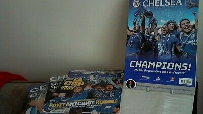 Chelsea Fc 4 Official Football Club Magazines See Description