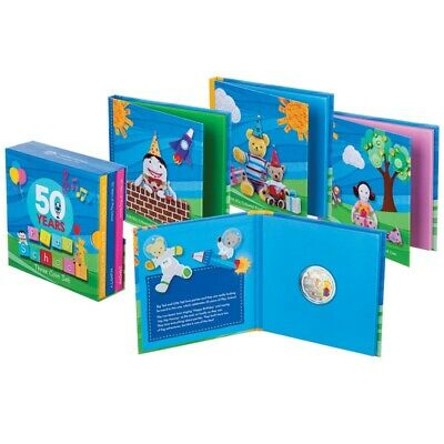 50 Years of Play School Limited Edition 3-Coin 50c Collector's Box Set 2016 RARE