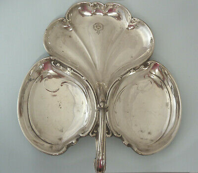 SILVER Plated NUT Tray. William Hutton, Sheffield. ARMY CANTEEN BOARD, INDIA
