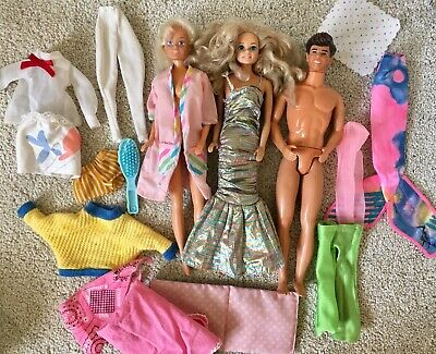 Vintage Barbie Sindy Male Doll Bundle TLC
