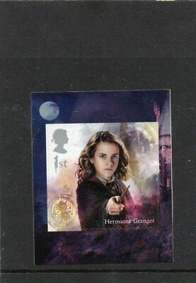 GB QE II 2018 S/A booklet stamp Hermione Granger MNH