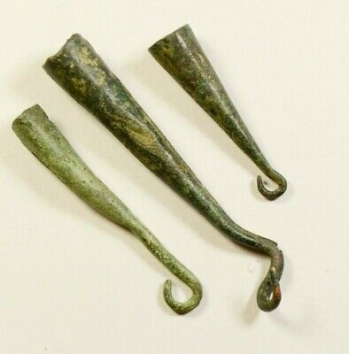 Ancient Bronze Tools for fishing netting - VERY RARE ARTIFACTS (Roman Period)