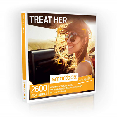 Buyagift Treat Her Gift Experiences Box - Over 2600 Gifts for Her, Spa Packages,
