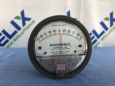 Dwyer Magnehelic® Differential Pressure Gage (Model 2300-0)