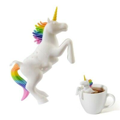 Cute Silicone Unicorn Tea Infuser Coffee Loose Leaf Strainer Filter Perfect Gift