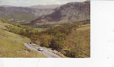Keswick, Lake District -  Honister Pass & Borrowdale Valley Colour Postcard