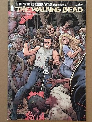 #162B 2017 NM Connecting Cover Variant Image Walking Dead